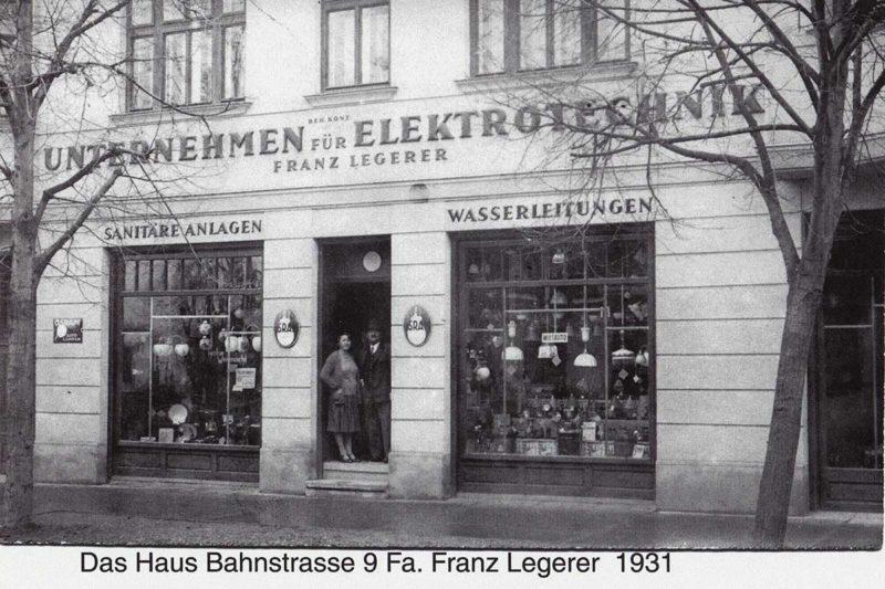 Haustechnik Legerer im Jahr 1931