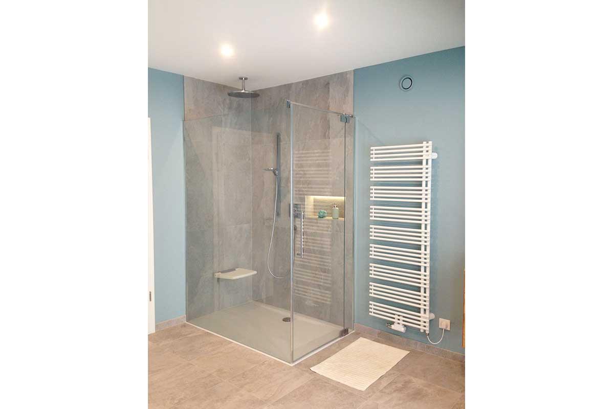 Neuerrichtung Komfort Badezimmer